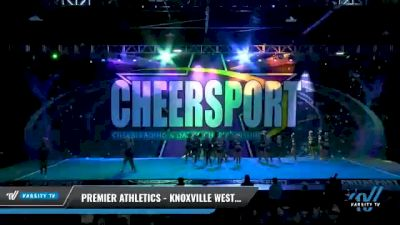 Premier Athletics - Knoxville West - Great White Sharks [2021 L5 Senior - Small Day 1] 2021 CHEERSPORT National Cheerleading Championship