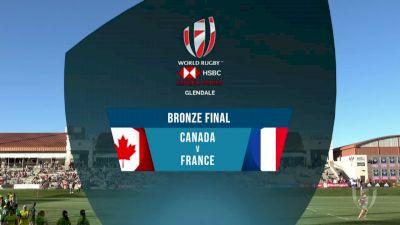 Canada 7s vs France 7s Bronze Final | 2018 HSBC Women's 7s Colorado