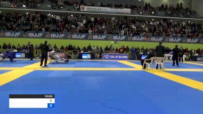 VITOR HENRIQUE SILVA OLIVEIRA vs PEDRO HENRIQUE SEGURA VERAS 2020 European Jiu-Jitsu IBJJF Championship