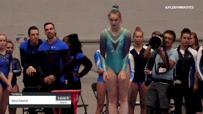 Sara Moore - Tumbling - 2019 Canadian Gymnastics Championships - TG