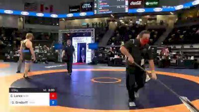 125 kg 7th Place - Christian Lance, Nebraska Wrestling Training Center vs David Tate Orndorff, TMWC/OHIO RTC