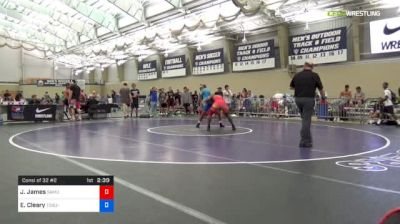 79 kg Consi Of 32 #2 - Jairod James, Samurai vs Elijah Cleary, Ohio State-Unattached