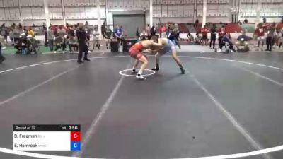 65 kg Prelims - Ben Freeman, Bulls Wrestling Club vs Eddie Homrock, Michigan Wrestling Club