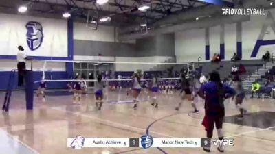 Replay: Austin Achieve vs Manor New Tech | Oct 19 @ 6 PM