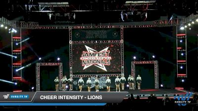 Cheer Intensity - Lions [2020 L5 Senior - Small - A Day 1] 2020 JAMfest Cheer Super Nationals