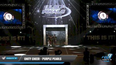 Unity Cheer - Purple Pearls [2021 L1.1 Mini - PREP - D2 - A Day 1] 2021 The U.S. Finals: Louisville