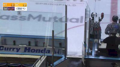 Full Replay - RIT vs AIC | Atlantic Hockey