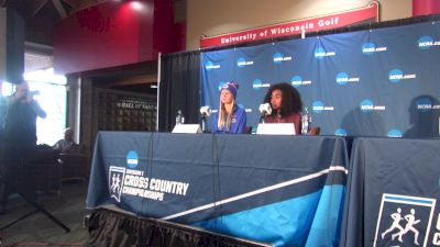 Allie Ostrander, Weini Kelati and Alicia Monson On Women Running 10K At NCAA XC
