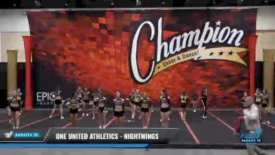 One United Athletics - NightWings [2021 L4 Senior Coed] 2021 Wolfpack Championship