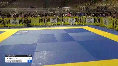 ANTHONY MARCELO vs JUSTIN PATRICK STASSI 2021 Pan Kids Jiu-Jitsu IBJJF Championship