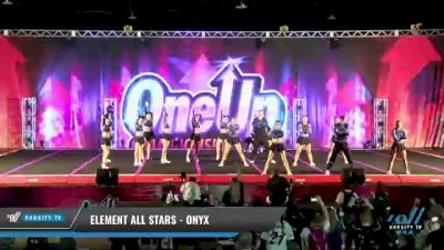 Element All Stars - Onyx [2021 L6 Senior Coed Open - Small Day 1] 2021 One Up National Championship