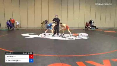 61 kg Consolation - Ian Parker, Cyclone Regional Training Center C-RTC vs Jack Skudlarczyk, Panther Wrestling Club RTC