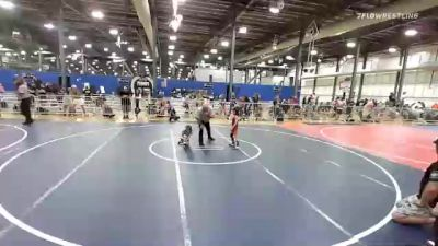 43 lbs Rr Rnd 2 - Robert Urquides-Swann, Firebird Elite vs Connor Flynn, The Funky Singlets