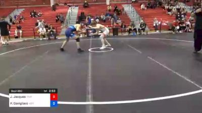 74 kg Consolation - Jarrett Jacques, Tiger Style Wrestling Club vs Philip Conigliaro, New England Regional Training Center