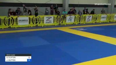 AMANDA CLIFTON vs JANNIE MUTTON 2021 Pan IBJJF Jiu-Jitsu No-Gi Championship
