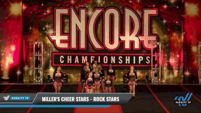 Miller's Cheer Stars - rock stars [2021 L2 Junior - D2 Day 2] 2021 Encore Championships: Pittsburgh Area DI & DII