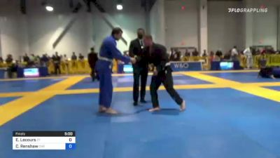 Eric Lecours vs Carlin Renshaw 2021 American National IBJJF Jiu-Jitsu Championship