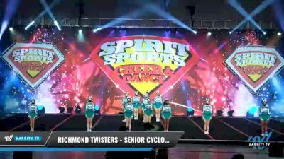 Richmond Twisters - Senior Cyclones [2021 L4.2 Senior - D2 - Small Day 2] 2021 Spirit Sports: Battle at the Beach