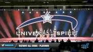 Victory! All Stars - Platinum [2021 L6 Senior - XSmall - B Day 2] 2021 Universal Spirit-The Grand Championship