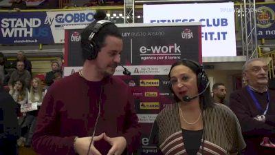Full Replay - Busto Arsizio vs Lardini Filottrano - Busto Arsizio vs Filottrano
