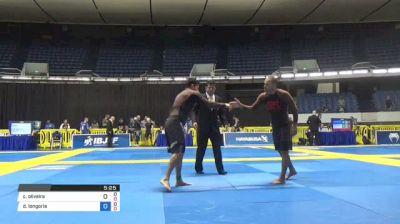 Caio Oliveira vs David Longoria World IBJJF Jiu-Jitsu No-Gi Championships