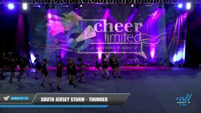 South Jersey Storm - Thunder [2021 L3 Junior - Small] 2021 Cheer Ltd Open Championship: Trenton