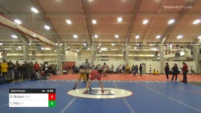Semifinal - Daniel Bullard, NC State vs Thomas Flitz, Appalachian State