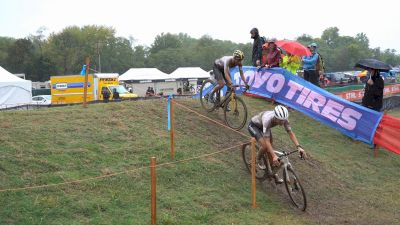 Lucinda Brand Takes Risks On Slippery Fayetteville World Cup Course