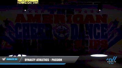 Dynasty Athletics - Passion [2021 L2 Junior - D2 - Small Day 2] 2021 The American Celebration DI & DII