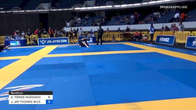 ANDY TOMAS MURASAKI PEREIRA vs JAY JAY THOMAS WILSON 2019 World IBJJF Jiu-Jitsu No-Gi Championship