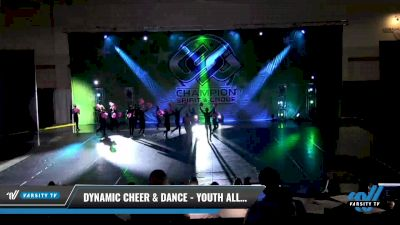 Dynamic Cheer & Dance - Youth All Star Pom [2021 Youth - Pom - Large Day 3] 2021 CSG Dance Nationals