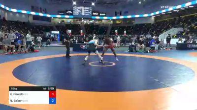 60 kg Consolation - KeVon Powell, Louisiana vs Nelson Baker, Northern Illinois RTC
