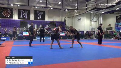 Javier Cardenas, Jr. vs Pedro Fillipe Serra M. 2019 Pan IBJJF Jiu-Jitsu No-Gi Championship