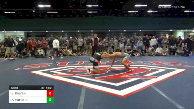 Match - Justin Rivera, Fl vs Alek Martin, Oh