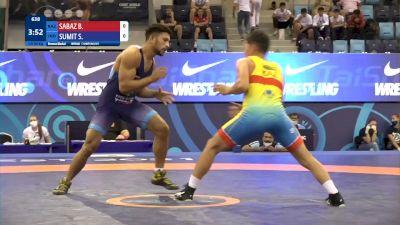 60 kg Final 3-5 - Bagdat Sabaz, Kazakhstan vs Sumit Sumit, India