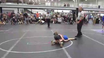 68 lbs Round 1 (4 Team) - Collin Bagdonas, Team Ohio vs Dakota Sandy, Mat Assassins