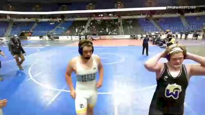 220 lbs 7th Place - Mac Levin, Pennsylvania vs Asher Hodge, Tennessee