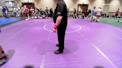 132 kg Semifinal - Emmett Hansen, New York vs Casper Stewart, New York