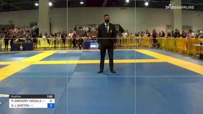 PHILLIP GREGORY INGVALSON vs GARRETT L GASTON 2021 American National IBJJF Jiu-Jitsu Championship