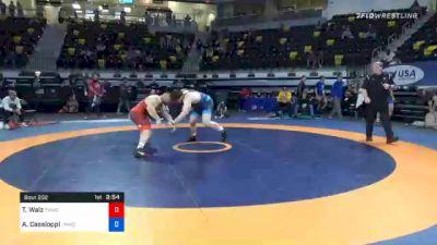 125 kg Semifinal - Ty Walz, TMWC/ SERTC vs Anthony Cassioppi, TMWC/ Hawkeye Wrestling Club