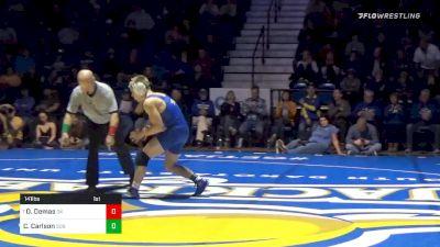 141 lbs Dom Demas, OK vs Clay Carlson, SDSU