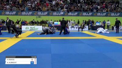 PATRICK GAUDIO vs NATHAN ALBRECHT MENDELSOHN 2018 European Jiu-Jitsu IBJJF Championship