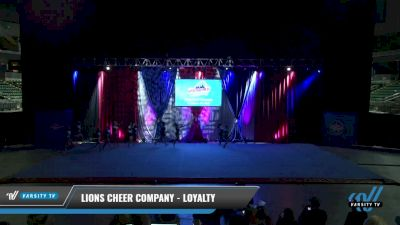Lions Cheer Company - Loyalty [2021 L4.2 Senior - D2 - Small Day 1] 2021 The American Gateway DI & DII