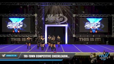 Tri-Town Competitive Cheerleading - Black Ice [2021 L4 Performance Recreation - 8-18 Years Old (NON) - Small Day 1] 2021 The U.S. Finals: Ocean City