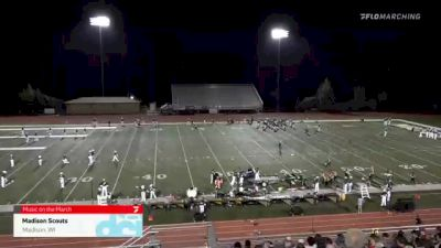 Madison Scouts at 2021 Music on the March