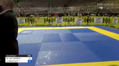 MASON JAY LEMMEN vs JASON DAVID LOTT 2021 Pan Kids Jiu-Jitsu IBJJF Championship