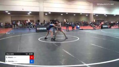 126 kg Consolation - Gavin Monk, Ironclad WC vs Dylan Garcia, Garage Boyz Wrestling
