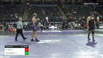 285 lbs Prelims - Carter Isley, Northern Iowa vs Ben Sullivan, Army West Point