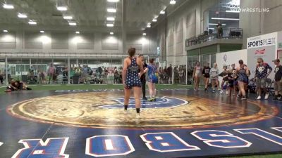Final - Jolie Ziegler, Elite Athletic Club DZ vs Shelbi Daniels, Lady Pitbulls Purple