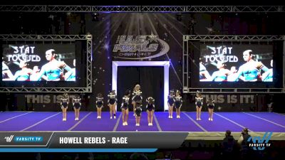 Howell Rebels - RAGE [2021 L2 Performance Recreation - 14 and Younger (AFF) Day 1] 2021 The U.S. Finals: Ocean City